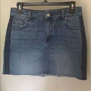 Pacsun two-tone denim skirt!
